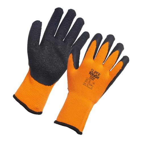 Supertouch Orange Topaz Cool Gloves - 60 Pairs - HIDDEN